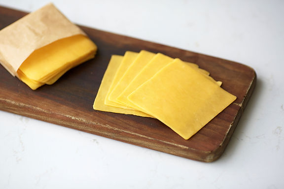 Sharp Yellow Cheddar Cheese (sliced)