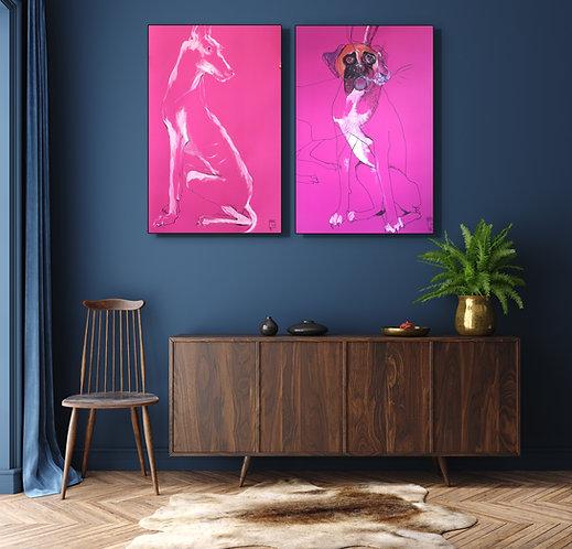 Pink Pod and Mastiff rendezvous
