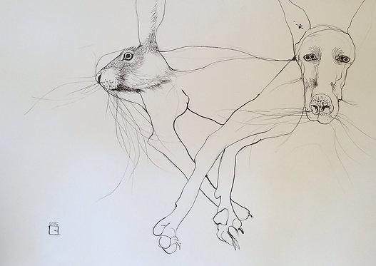 soul mate, original drawing