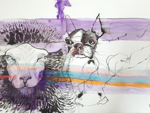 purple flood
