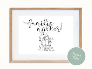 Familienposter