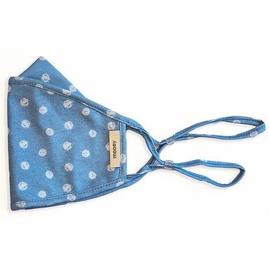Polka Dot Adult Face Covering