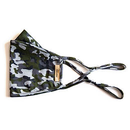 Camo Adult Face Covering
