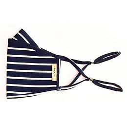 Classic Stripe Adult Face Covering