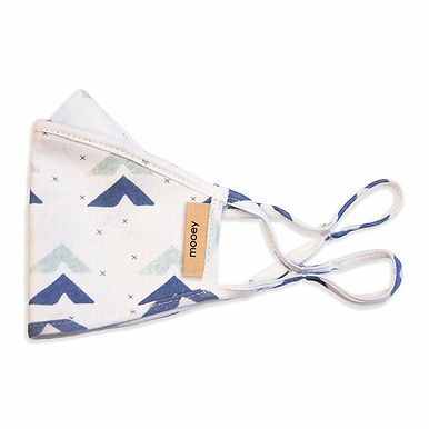 Kid's Triangle Print Face Covering