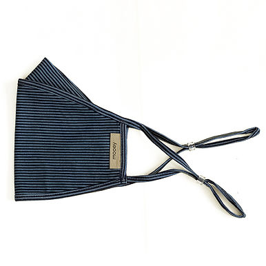 Thin Stripe Adult Face Covering
