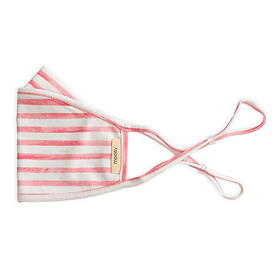 Watercolour Stripe Adult Face Covering