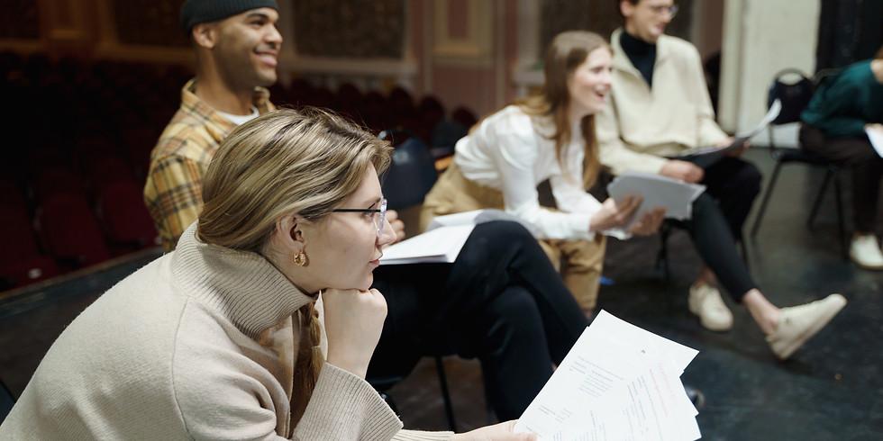 6-week  Workshop    Skills Clinic: The Art of Dramatic Writing