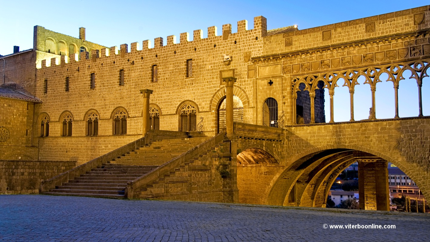 Palace of the Popes in Viterbo