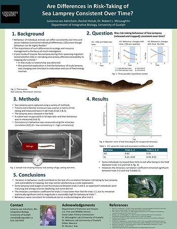 1. Lamprey Poster - Canadian Society of