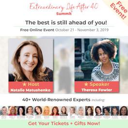 Extraordinary Life After 40 virtual summit