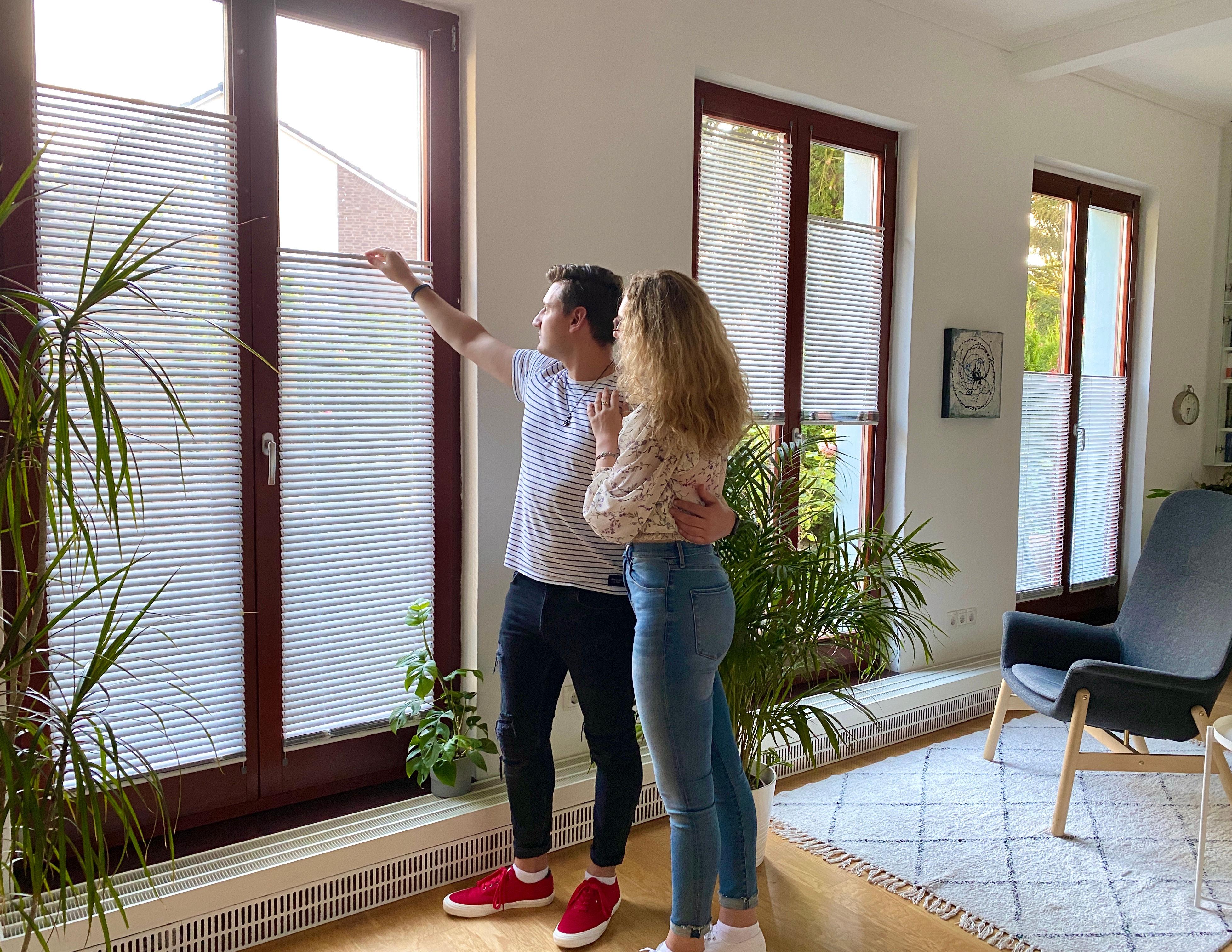 Wohnzimmer-Paar-Fenster