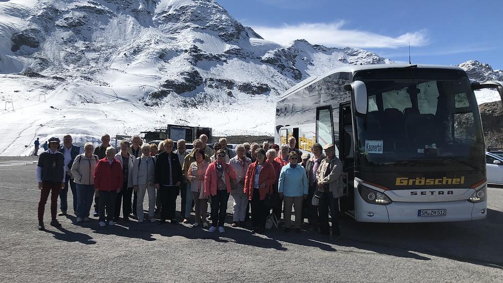Ausflugsfahrt zum Kaunertaler Gletscher