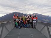 WSBV auf der Aussichtsplattform Kaunergrat