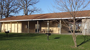 Offutt Park Pavilion, perfect to host reunions and picnics