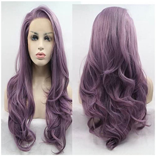 Lavender Lace Front Wig
