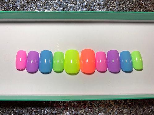 Pastel Rainbow II Nail Set
