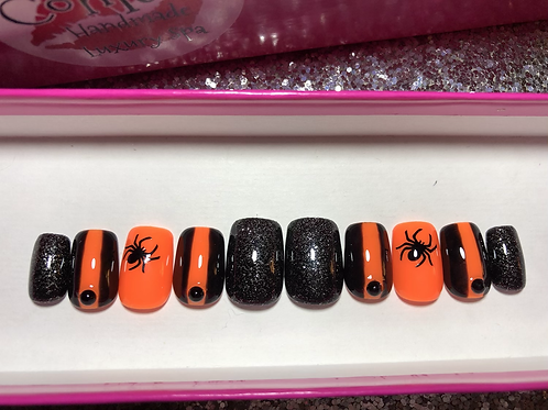 Spooky Spider Nail Set