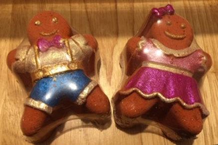 Gingerbread Bath Bomb