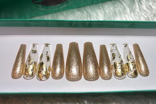 Gold & Foil Nail Sets