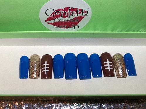 Football Nail Set