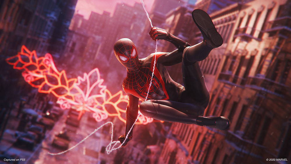 Spider-Man Swings Through New York City