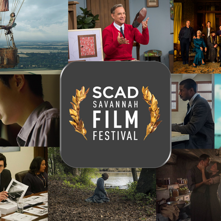 SCAD SavannahFilm Festival 2019 Line-Up Revealed