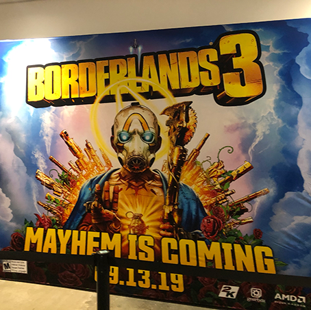 Borderlands 3 Makes a Big Splash at #DragonCon2019