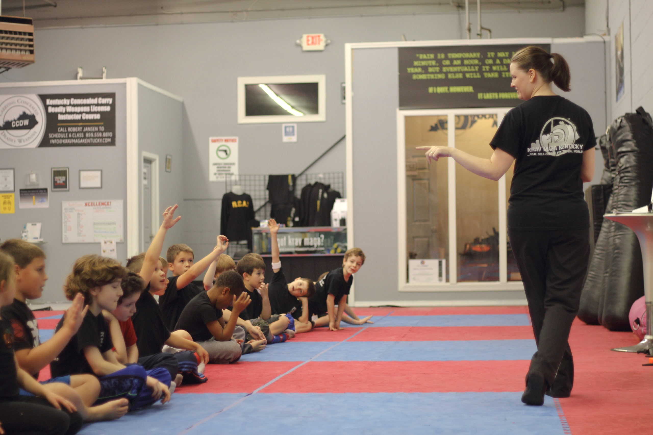Childrens self defense