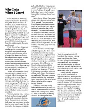 Self Defense article