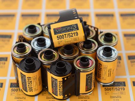 Filmes de Cinema Kodak Vision 200t e 500t