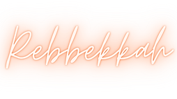 Fatiah's middle name spelled out in a illuminated script font
