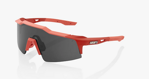 SPEEDCRAFT® SL Soft Tact Coral Smoke Lens + Clear Lens Included