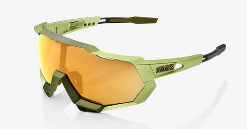 SPEEDTRAP® Matte Metallic Viperidae Bronze Multilayer Mirror Lens + Clear Lens