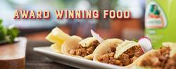 Award Winning Food