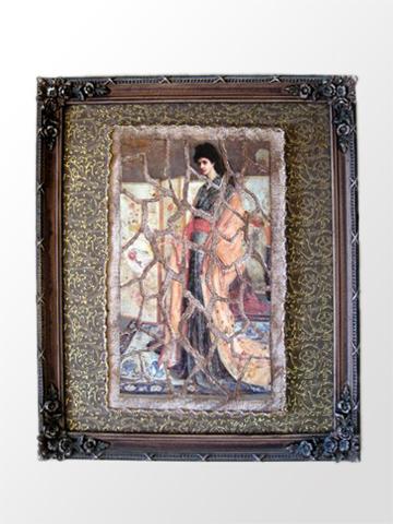 Paper Mosaic Lady