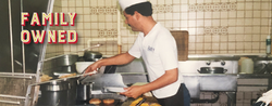 Family Owned - Rudy in the Kitchen