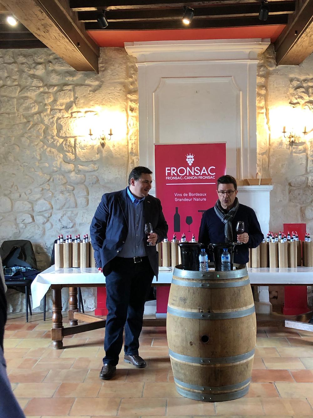 Chateau George 7 blind tasting of 2018 vintage