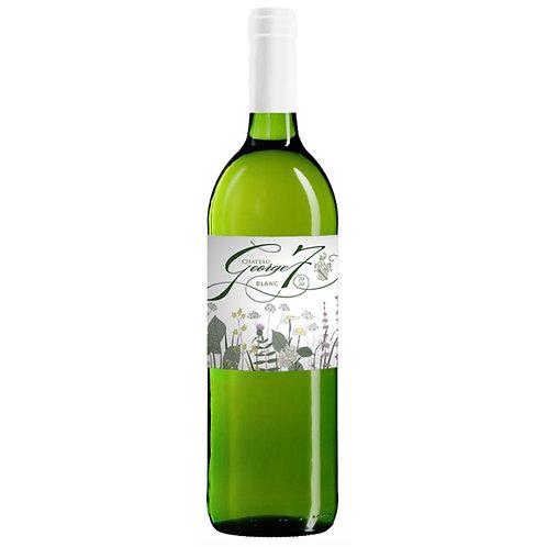 Château George 7 Blanc 2020        75cl Bottle X 6