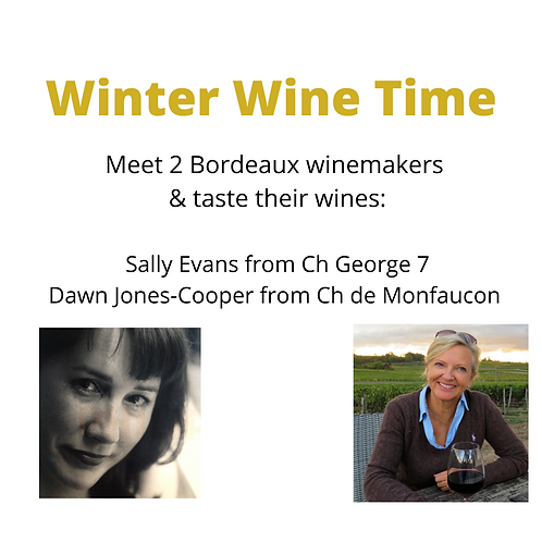 Winter Wine Online Tasting Event - 19.00-20.30 5th March 2021