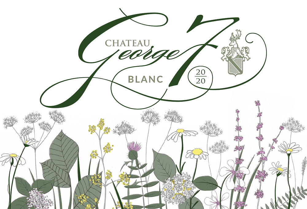 The diverse plantflife growing in and around Château George 7 vines