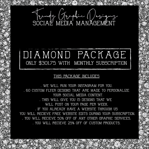 SOCIAL MEDIA MANAGEMENT ( DIAMOND )