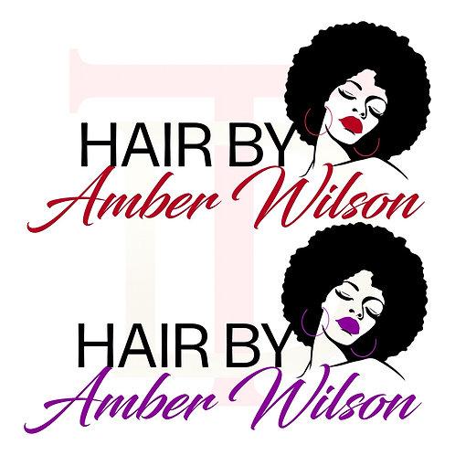 Premade Hair Logo