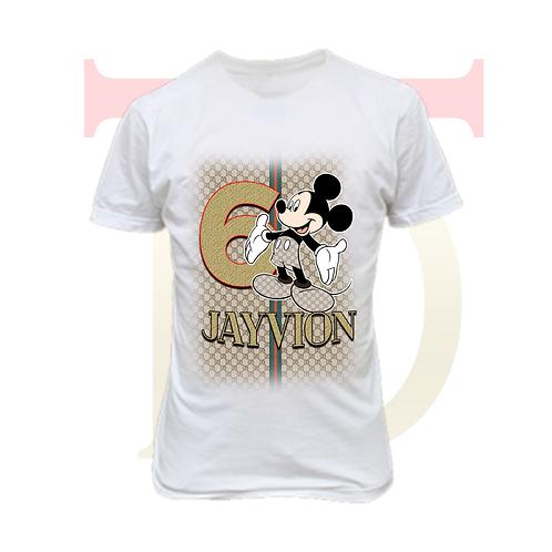 Premade kids custom tshirt