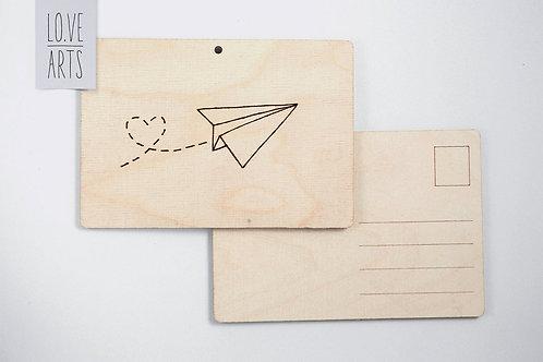 Postkarte - Flieger