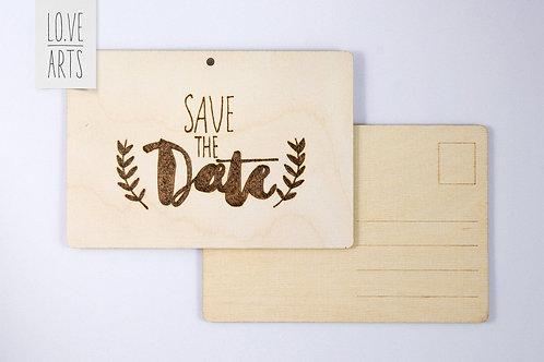Postkarte - Save The Date