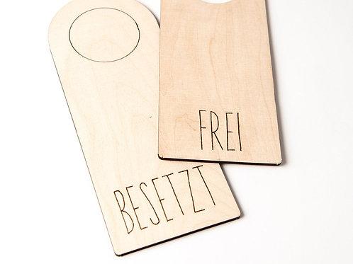 Türhänger - Frei /Besetzt