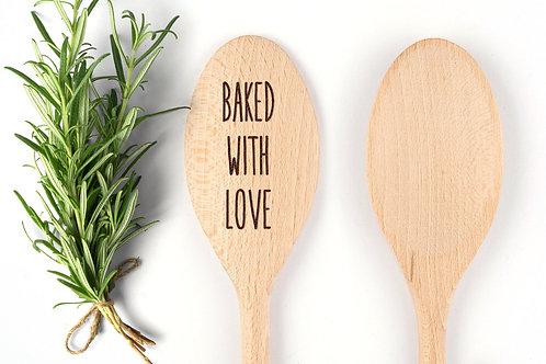 Kochlöffel - baked with love