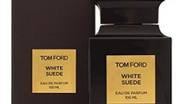 WHITE SUEDE by TOM FORD