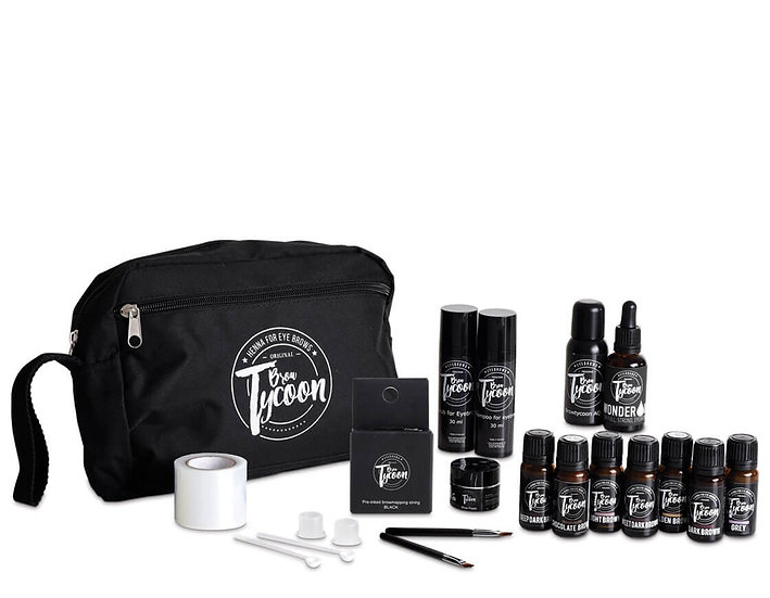 Brow Tycoon Henna Eye Brows full starter Kit